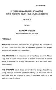 Charge sheet S v R Krejcir.doc